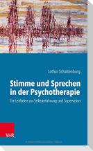 Stimme und Sprechen in der Psychotherapie