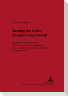Meeting the Other - Encountering Oneself