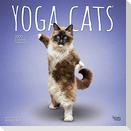 Yoga Cats - Joga-Katzen 2022 - 18-Monatskalender