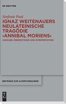 """Ignaz Weitenauers neulateinische Tragödie """"Annibal moriens"""""""