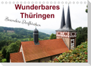 Wunderbares Thüringen - besondere Dorfkirchen (Tischkalender 2022 DIN A5 quer)