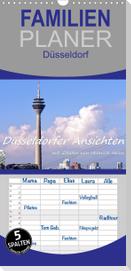 Düsseldorfer Ansichten mit Zitaten von Heinrich Heine (Wandkalender 2022 , 21 cm x 45 cm, hoch)