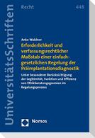 Erforderlichkeit und verfassungsrechtlicher Maßstab einer einfachgesetzlichen Regelung der Präimplantationsdiagnostik