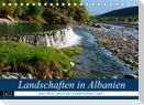 Landschaften in Albanien (Tischkalender 2022 DIN A5 quer)