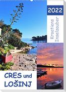 Kroatiens Inselzauber, Cres und Losinj (Wandkalender 2022 DIN A2 hoch)