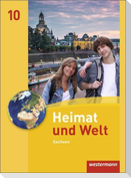 Heimat und Welt 10. Schülerband. Sachsen
