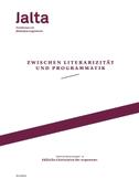Zwischen Literarizität und Programmatik - Jüdische Literaturen der Gegenwart
