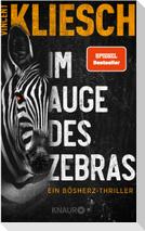 Im Auge des Zebras