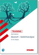 STARK Training Gymnasium - Deutsch - Gedichtanalyse 9./10. Klasse