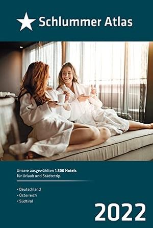 Schlummer Atlas 2022 - Unsere ausgewählten 2.000 Hotels für Urlaub und Städtetrip. Busche Verlagsges., 2021.