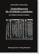 Nachschlagewerk für 18 jüdische Lesebücher
