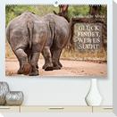 AFRIKA - Glück findet, wer es sucht (Premium, hochwertiger DIN A2 Wandkalender 2022, Kunstdruck in Hochglanz)