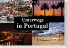Unterwegs in Portugal (Tischkalender 2022 DIN A5 quer)