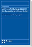 Der Entscheidungsprozess in der Europäischen Kommission