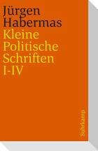 Kleine Politische Schriften (I-IV)