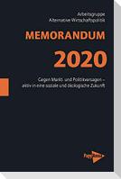 MEMORANDUM 2020
