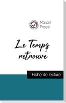 Le Temps retrouvé de Marcel Proust (fiche de lecture et analyse complète de l'oeuvre)