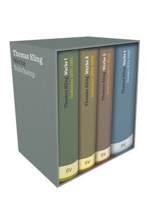 Kling, Thomas. Werke in vier Bänden. Suhrkamp Ver