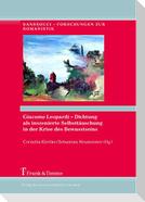 Giacomo Leopardi - Dichtung als inszenierte Selbsttäuschung in der Krise des Bewusstseins