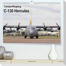 Transportflugzeug C-130 Hercules (Premium, hochwertiger DIN A2 Wandkalender 2022, Kunstdruck in Hochglanz)