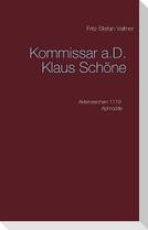 Kommissar a.D. Klaus Schöne