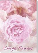 Vintage Flowers (Wandkalender 2021 DIN A3 hoch)
