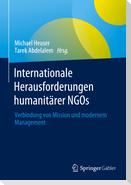 Internationale Herausforderungen humanitärer NGOs