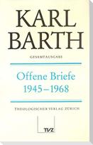 Gesamtausgabe Bd. 15 - Offene Briefe 1945 - 1968