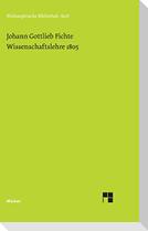 Wissenschaftslehre (1805)