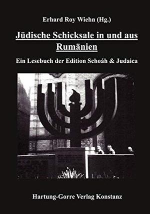 Wiehn, Erhard Roy (Hrsg.). Jüdische Schicksale in und aus Rumänien - Ein Lesebuch der Edition Schoáh & Judaica. Hartung-Gorre, 2021.