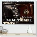 Historische Fotoapparate (Premium, hochwertiger DIN A2 Wandkalender 2022, Kunstdruck in Hochglanz)