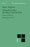 Philosophische Werke 2. Abhandlung über das Wasser und die Erde