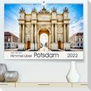 Himmel über Potsdam (Premium, hochwertiger DIN A2 Wandkalender 2022, Kunstdruck in Hochglanz)