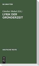 Lyrik der Gründerzeit