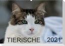 Tierische 2021 (Wandkalender 2021 DIN A2 quer)