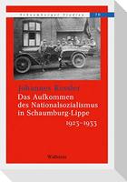 Das Aufkommen des Nationalsozialismus in Schaumburg-Lippe 1923 -1933