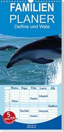 Delfine und Wale (Wandkalender 2022 , 21 cm x 45 cm, hoch)