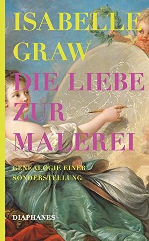 Isabelle Graw. Die Liebe zur Malerei - Genealogie einer Sonderstellung. Diaphanes, 2017.