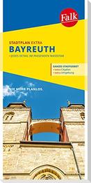 Falk Stadtplan Extra Standardfaltung Bayreuth 1:15 000