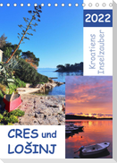 Kroatiens Inselzauber, Cres und Losinj (Tischkalender 2022 DIN A5 hoch)
