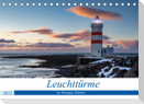 Leuchttürme - an Europas Küsten (Tischkalender 2022 DIN A5 quer)