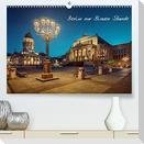 Die Blaue Stunde in Berlin (Premium, hochwertiger DIN A2 Wandkalender 2022, Kunstdruck in Hochglanz)