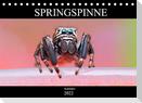 Springspinne Kalender (Tischkalender 2022 DIN A5 quer)