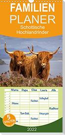 Schottische Hochlandrinder. Freundlich, schön und robust (Wandkalender 2022 , 21 cm x 45 cm, hoch)