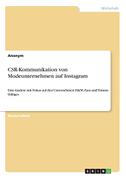 CSR-Kommunikation von Modeunternehmen auf Instagram