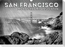SAN FRANCISCO Monochrome Ansichten (Wandkalender 2022 DIN A3 quer)