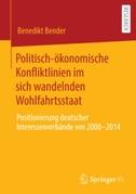 Politisch-ökonomische Konfliktlinien im sich wandelnden Wohlfahrtsstaat
