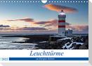 Leuchttürme - an Europas Küsten (Wandkalender 2022 DIN A4 quer)