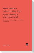 Früher Idealismus und Frühromantik
