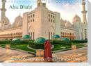 Abu Dhabi - Splendide capitale des Émirats arabes unis (Calendrier mural 2022 DIN A4 horizontal)